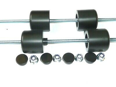 Yamaha Xjr1300  Crash Mushrooms Front And Rear Axle Sliders Bobbins Pucks  S4p • 48.35£