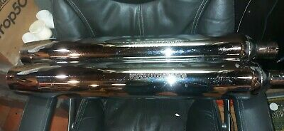 Harley Davidson Exhaust 65547-98A, 65354-04 Tail Pipes  As New • 40.02£