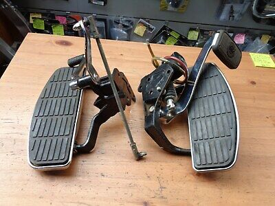 Harley-Davidson Softail 2000 & Up Front Floorboards Clusters Brackets Levers • 350£