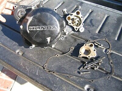 1990 1991 90 91 Cr250 Oem Rt Side Case & Clutch Cover & Water Pump 11341-kx3-700 • 165.67£
