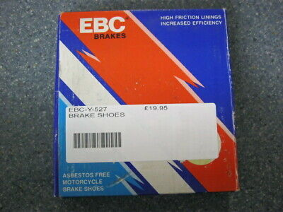 Ebc-y-527 Rear Brake Shoes For Various Small Motorcycles See Photos For Listing • 17£