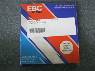 Ebc-y-503 Rear Brake Shoes For Various Small Motorcycles See Photos For Listing • 12£