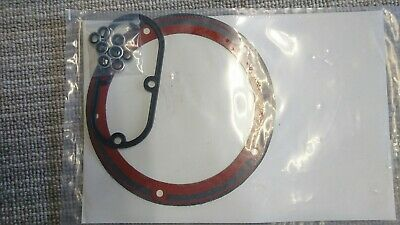 Gasket Primary Inspection And Derby Cover For Harley Davidson Softail Dyna To 05 • 20£