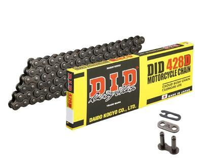 DID 428D Bike Chain Open Pitch 428 / 150 Links +clip Lock • 31.81£