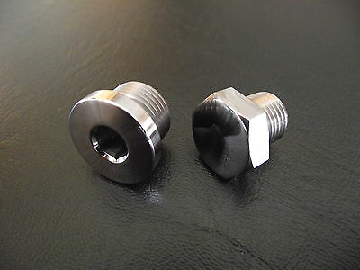 Bmw R1200gs 2003-2012 Stainless Steel Gearbox Filler & Drain Plug  • 16.95£
