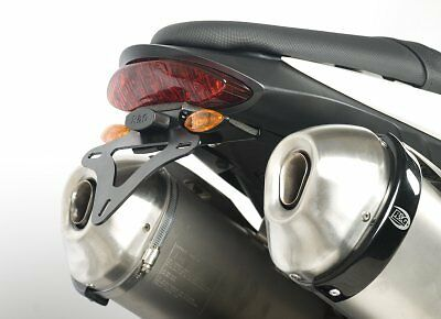Triumph Speed Triple 2011-2015 R&G Racing Black Tail Tidy Licence Plate Holder • 99.90£