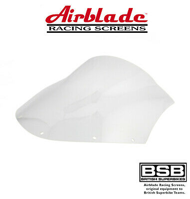 Bmw R1100 S Abs 2004 Airblade Clear Double Bubble Screen • 43.99£