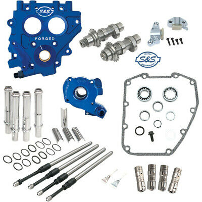 S&S Chain-Drive 510 Cam Chest Upgrade Kit Cams For 1999-2006 Harley Twin Cam • 1,300.48£