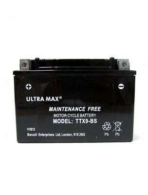 Honda NTV650 Revere 650CC Motorcycle Replacement Battery (1988-1997) • 22.53£