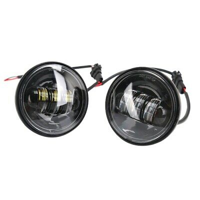 4.5 Inch 4-1/2 Inch Led Fog Light Passing Projector- Spot Lamp For Motorcyc J8O8 • 33.99£