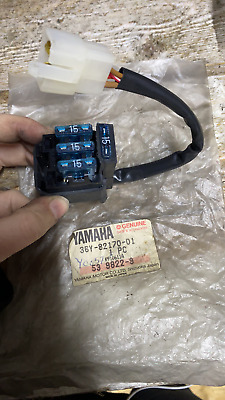 GENUINE YAMAHA Fuse Box Assy NEW OLD Stock Ukseller (36Y-82170-01) • 57.29£
