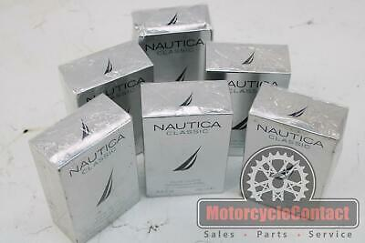 NAUTICA CLASSIC MENS COLOGNE 3.4 Fl Oz FLUID OUNCES NEW IN PACKAGE SET OF 6 • 58.61£