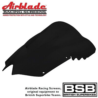 Airblade Race Screen To Fit Yamaha YZF-R6 2008-2016 Dark Smoked Double Bubble • 43.99£