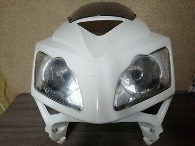 Lexmoto Xtrs 125 Front Fairing Nose With Headlights • 80£