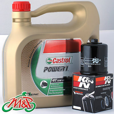 Suzuki GSF 600 S Bandit Naked 1995 Castrol K&N Oil Filter Kit • 38.99£