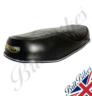 DUAL SEAT TRIUMPH T140E Bonneville UK Models With Drop Side Cover Kit - 83-7272 • 139.90£