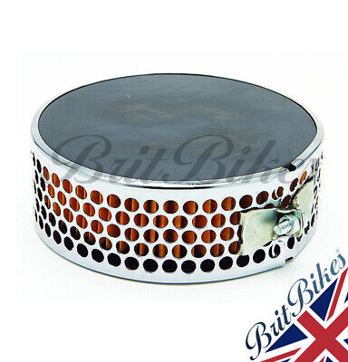 AIR FILTER Pancake Type Triumph & BSA Models With 928 930 932 Carb - 82-6432 • 18.99£