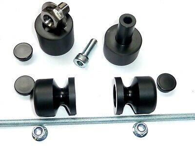 Honda Cbr600f 1991-1998 Axle Front & Rear Crash Mushrooms Sliders Bobbins Ts46 • 55.79£