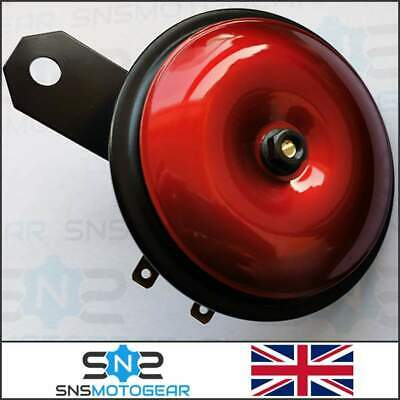 Universal Loud Motorcycle Motorbike Bike 12v Red Horn 110db • 11.99£