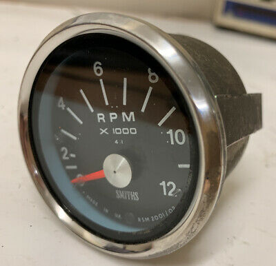 Genuine SMITHS Motorcycle Rev Counter * New * Old Stock .  2 1/2'' • 70£