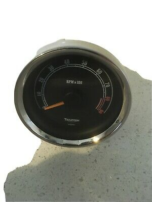 Triumph Speedmaster Tach/ Rev Counter • 40£