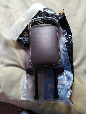 Genuine Royal Enfield Pillion Passenger Seat Brown Classic Chrome 500cc #593129 • 100£