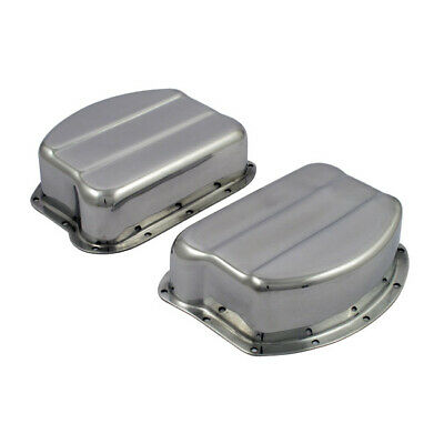 Paughco Panhead Rockerboxen Polished Alloy, OEM Style For Harley Davidson 48-65 • 281.45£