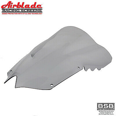 Airblade Race Screen To Fit Yamaha YZF-R6 2008-2016 Light Smoked Double Bubble • 43.99£
