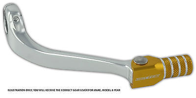 Suzuki Rmz250 Rm250z 04-06 Forged Alloy Flexi Tip Gear Shift Lever Pedal Gold • 14.99£