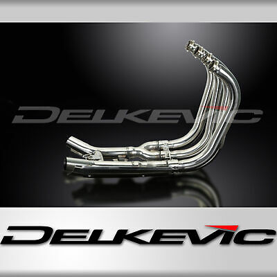 Suzuki Gsx1400 01-04 Stainless Steel 4-2 Exhaust Downpipes Oem Compatible • 259.99£