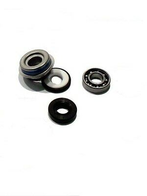 Kawasaki KDX 125 A1-A4 B1-B4 (1990-1993) Complete Water Pump Bearing & Seal Kit • 35£