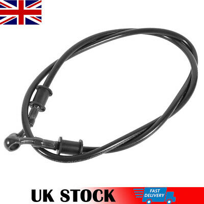 120cm Motorcycle Braided Stainless Steel Brake Clutch Oil Hose Line Pipe • 7.93£
