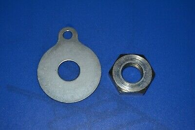 Burman Gearbox Clutch Centre Nut & Lock Washer, 11-7-11, 12-7-5  • 9.50£
