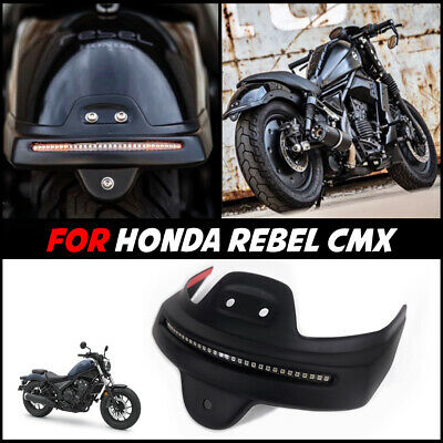 Short Rear Fender Tail Light Led Tidy For Honda Rebel Cmx 300 500 2017-18-19-21 • 76.34£