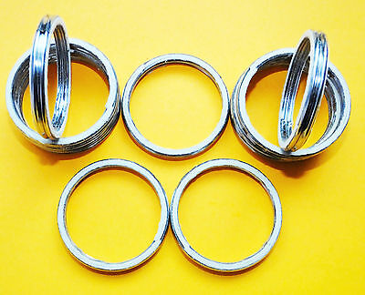 Suzuki SV 1000 TL 1000 R TL 1000 S ALLOY EXHAUST GASKETS SEAL GASKET RING  A54 • 4.95£