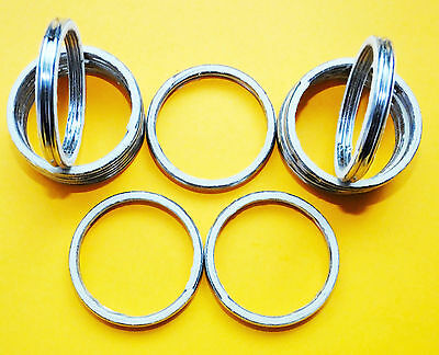 Yamaha Xjr1300 Xjr 2001 Alloy Exhaust Gaskets Seal Manifold Gasket Ring A46 • 3.95£