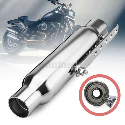 12'' Shorty Motorcycle Motorbike Exhaust Pipe Silencer For Chopper   • 23.13£