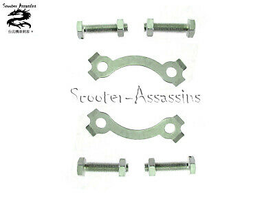 REAR SPROCKET MOUNTING BOLTS And LOCKING TABS For YAMAHA YBR 125   ,  UK STOCK • 11.71£