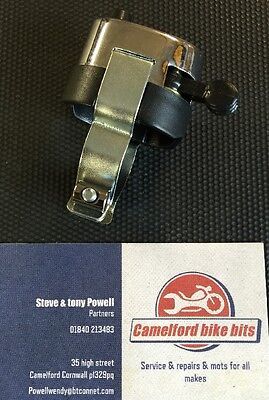 Chrome Horn Dip Switch 7/8  Classic Bike Cafe Racer Free Uk Postage  • 9.99£