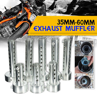 Universal Motorcycle Exhaust Can Muffler Baffle Removable Silencer 35mm-60mm  • 6.22£