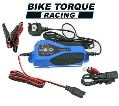 Shido DC1 Dual Battery Charger For Lithium / Lead-Acid / Gel / Motorcycle / Car • 63£