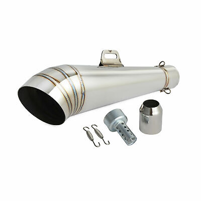 Universal Motorcycle GP Slip On Exhaust Muffler Silencer 38-51mm • 21.99£