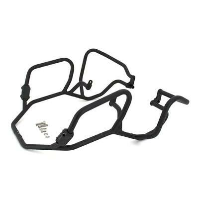 CrossPro TEXTURED BLACK (MATT) Engine Crash Bars Full Set BMW R 1200 GS 2011 • 192£
