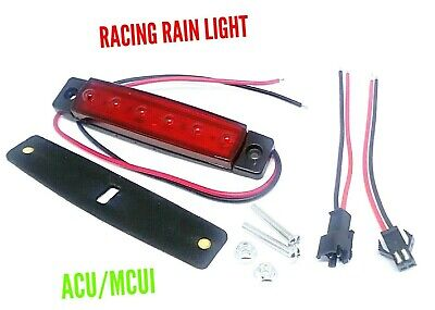 Motorcycle Rain Light With Connector -acu/mcui Approved  • 5.99£