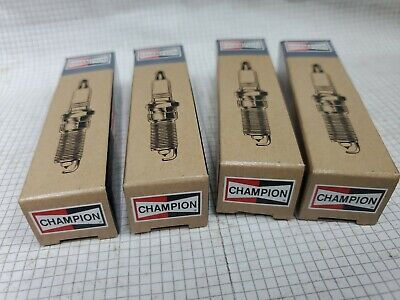 FOUR!! CJ8Y CHAMPION Spark Plugs BPMR7A (NGK) 92070-7003 (KAWASAKI) 11104007005 • 7.29£