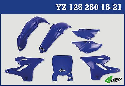 Yamaha YZ 125 250 2015 - 2021 Plastic Kit With Stadium Front Number Plate Blue • 99.99£