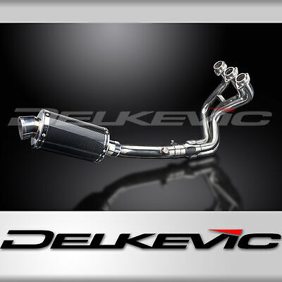YAMAHA MT09 2015-20 FULL EXHAUST SYSTEM 225mm CARBON OVAL SILENCER  • 334.99£