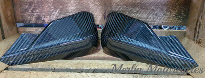 Barkbusters Storm CARBON Motorcycle Hand Guards / Hand Protectors Sold As A Pair • 116.95£