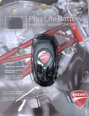 Ducati Performance Battery Charger UK Plug Maintainer 69924601AY  • 69.99£