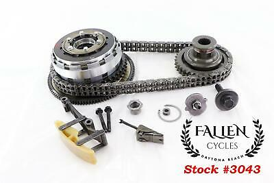 2007 Harley Road King Touring Clutch Basket Gear Chain Tensioner Kit *VIDEO 29k • 202.57£